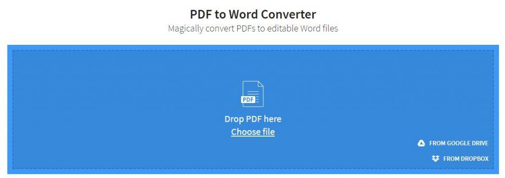 המרת PDF לוורד