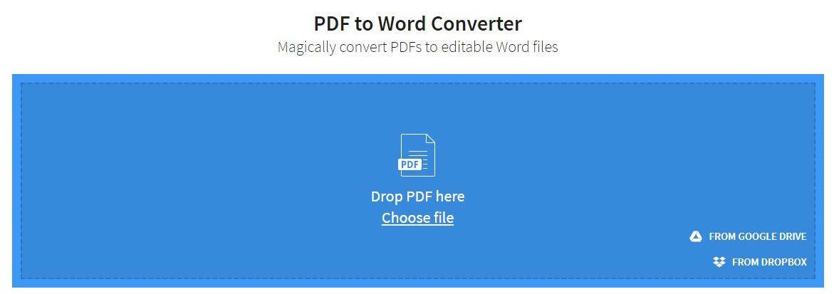 מדריך המרת PDF לוורד ב-2 צעדים ותוך מספר שניות