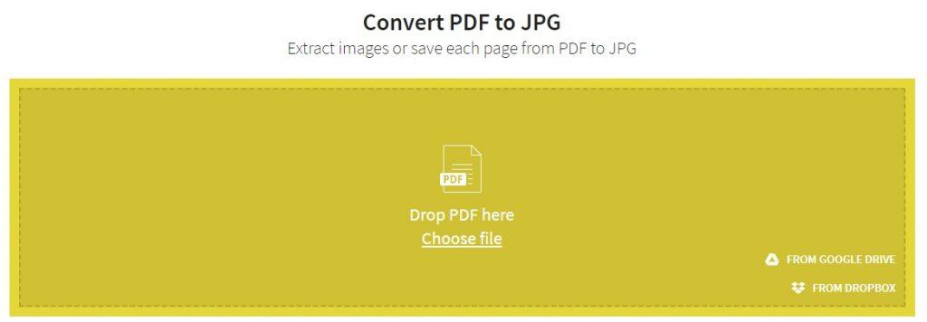 המרת PDF לתמונה
